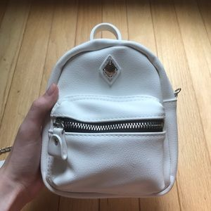 CLAIRES MINI BACKPACK